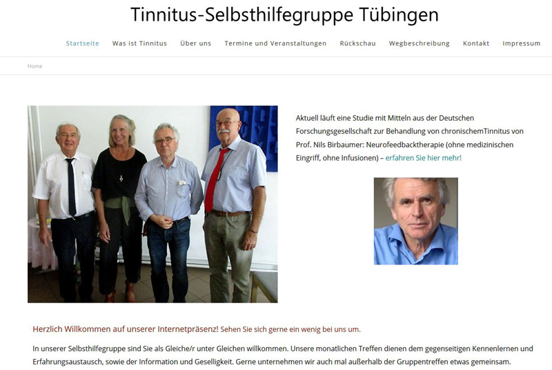 Tinnitus Selbsthilfegruppe